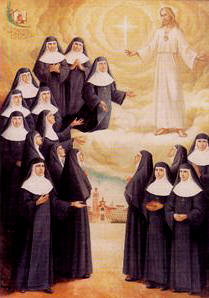 Ángeles Lloret Martí and 16 Companions (beatification banner)